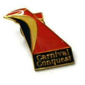 Carnival Conquest Brooch Pin